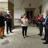 Na závěr pronesla několik slov i zámecká paní Andrea hraběnka Kolowrat-Krakowská.
