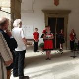 Pozvání na výstavu přijala náměstkyně ministra kultury PhDr. Anna Matoušková