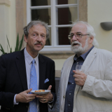 František hrabě Schlik a Jan Drocár.