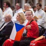 Řád Maltézských rytířů doprovázel nemocné a handicapované