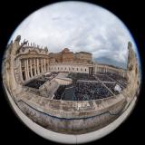 Pohled na náměstí sv. Petra
