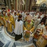 V bazilice Santa Maria Maggiore