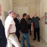 Autor rodokmenů Jan Drocár seznámil přítomné s posláním výstavy.